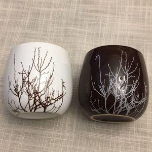 Set of 2 David's Tea Bubble Cups